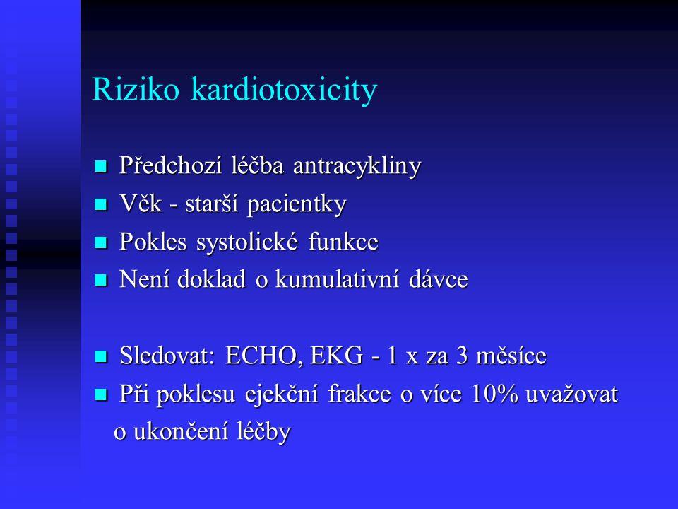 Riziko kardiotoxicity