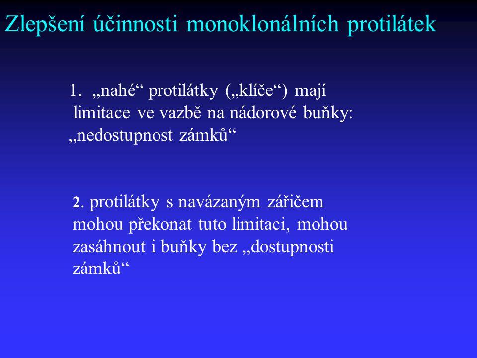 Zlepšení účinnosti monoklonálních protilátek