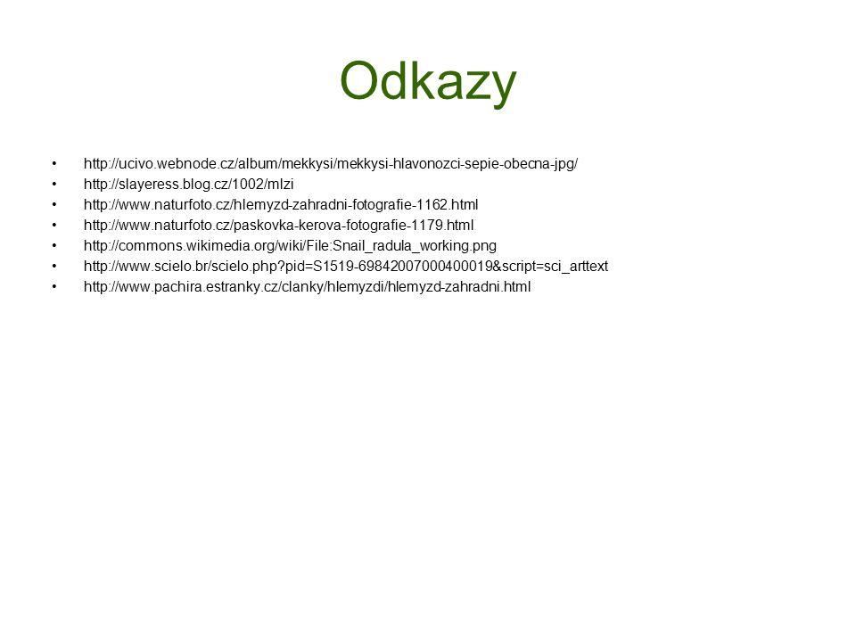 Odkazy http://ucivo.webnode.cz/album/mekkysi/mekkysi-hlavonozci-sepie-obecna-jpg/ http://slayeress.blog.cz/1002/mlzi.