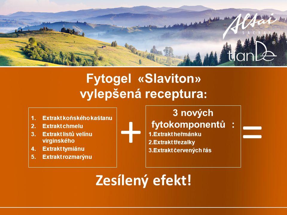 Fytogel «Slaviton» vylepšená receptura: