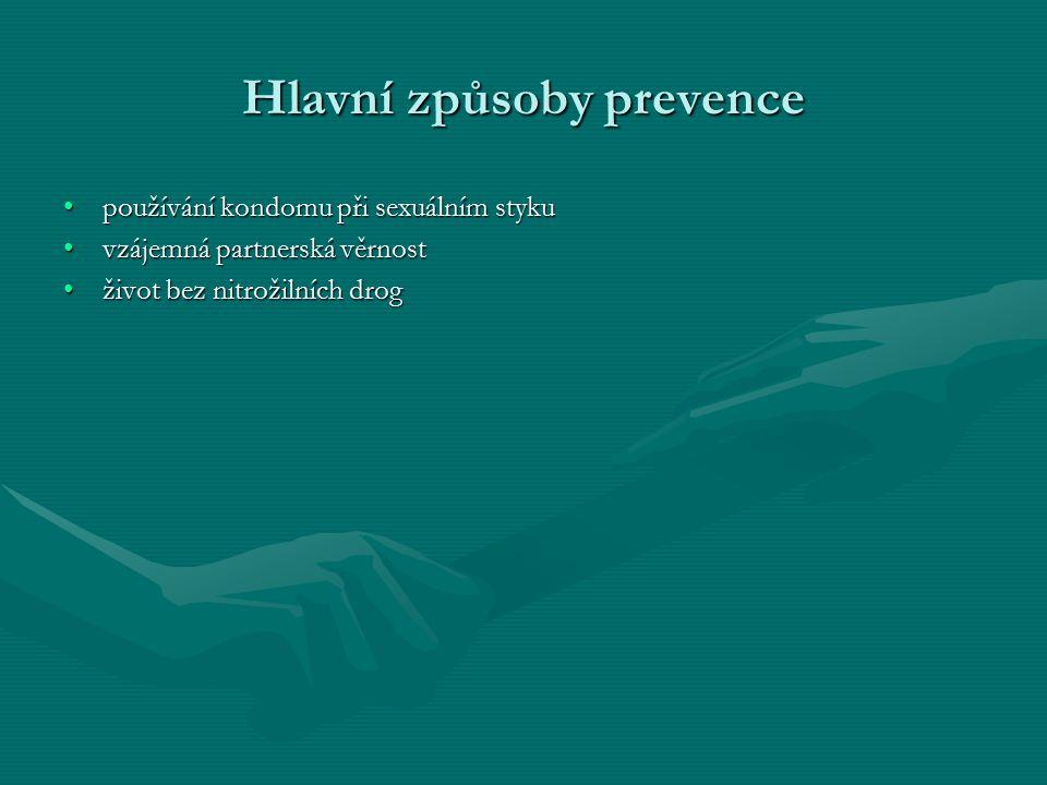 Hlavní způsoby prevence