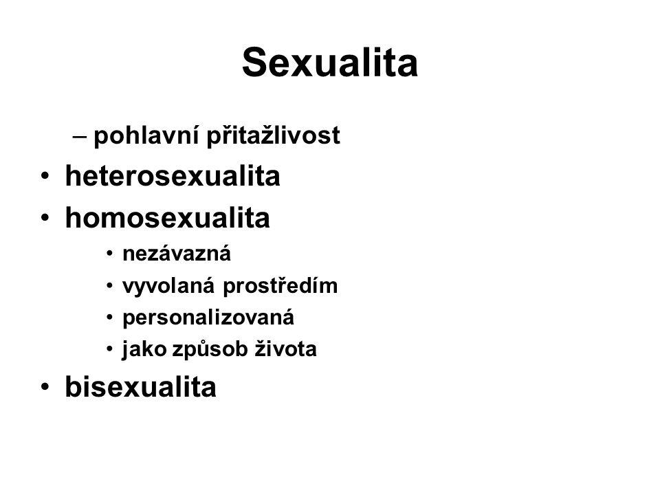 Sexualita heterosexualita homosexualita bisexualita