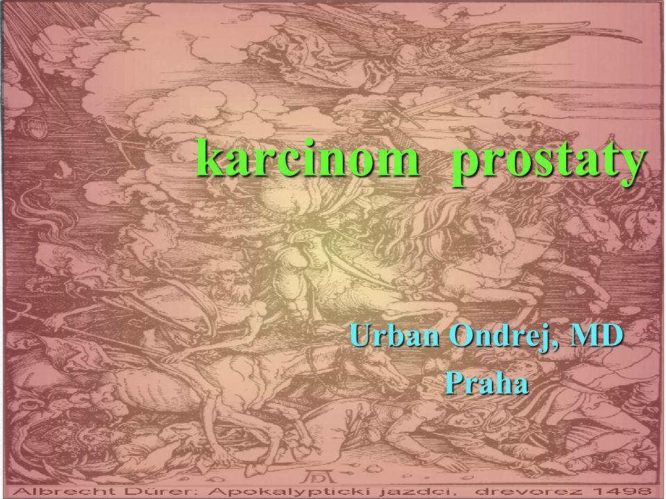 karcinom prostaty Urban Ondrej, MD Praha