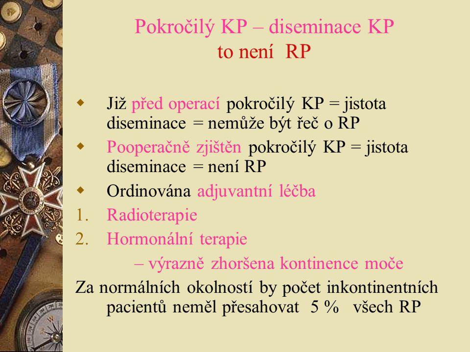 Pokročilý KP – diseminace KP to není RP