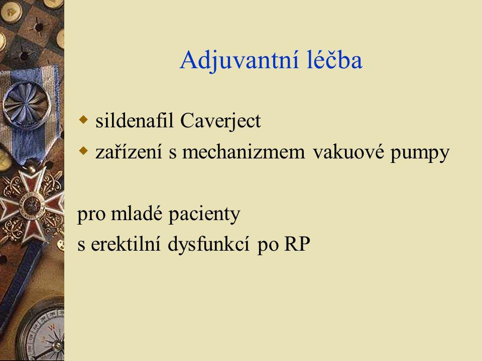 Adjuvantní léčba sildenafil Caverject