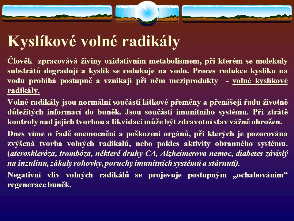 Kyslíkové volné radikály