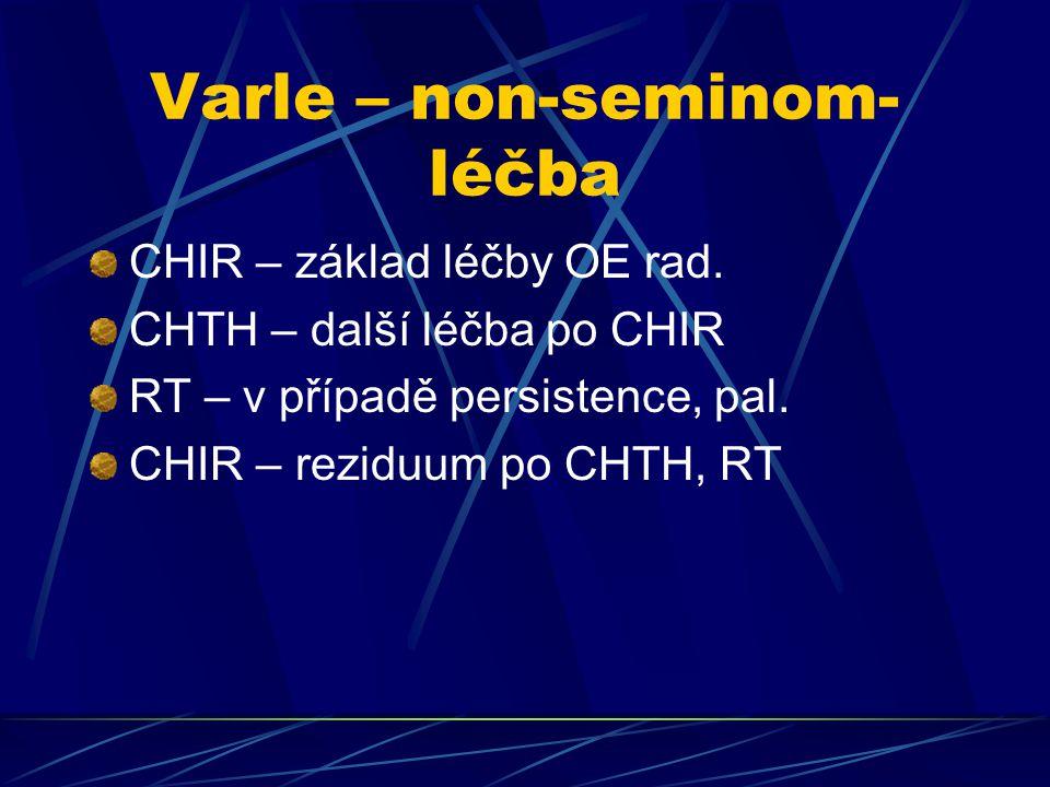 Varle – non-seminom-léčba