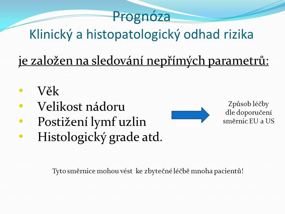 Prognóza Klinický a histopatologický odhad rizika