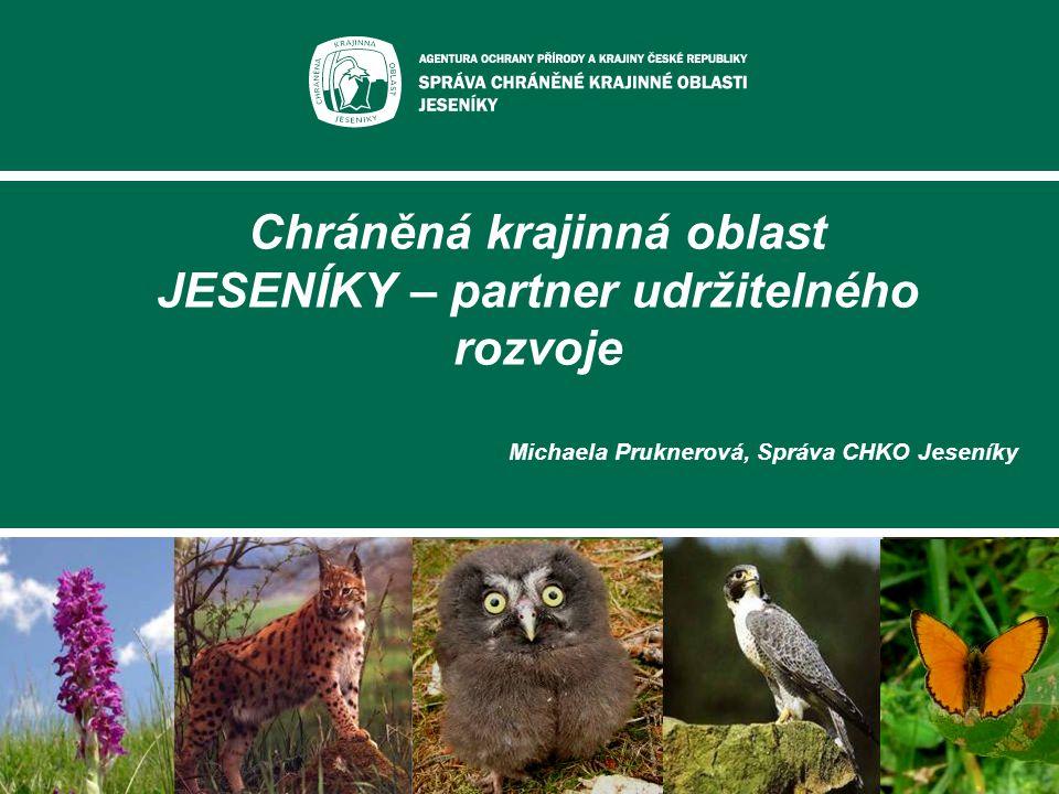 Chráněná krajinná oblast JESENÍKY – partner udržitelného rozvoje