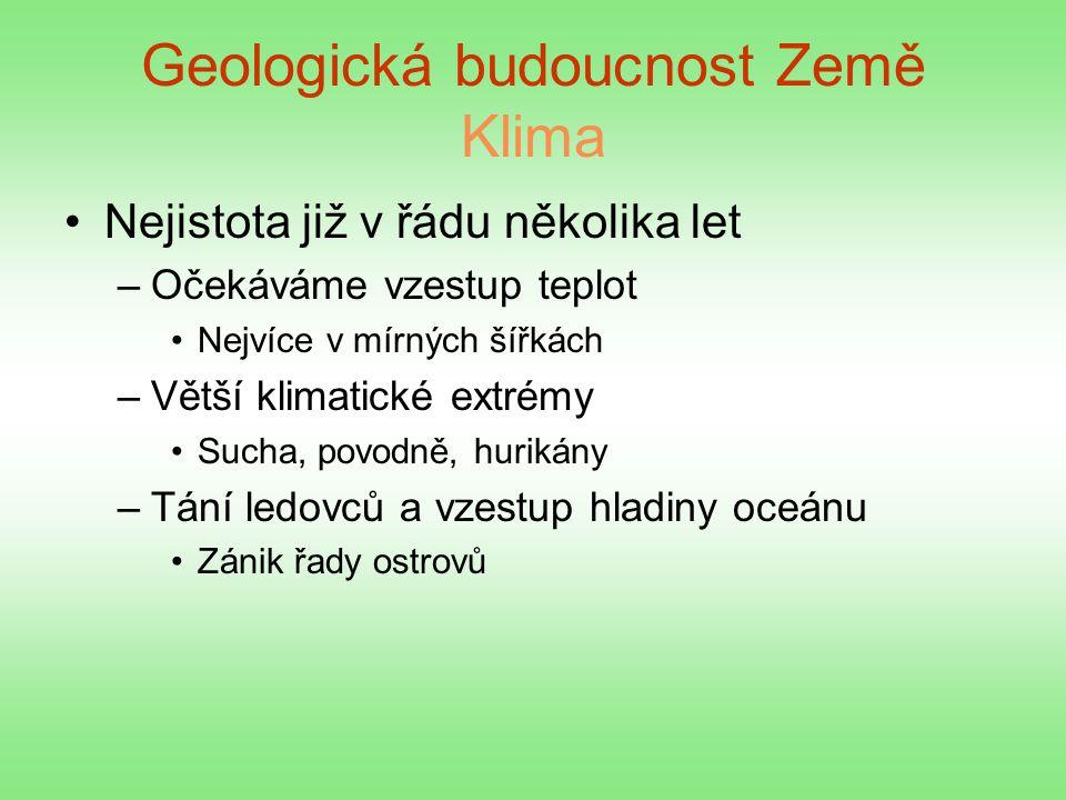 Geologická budoucnost Země Klima