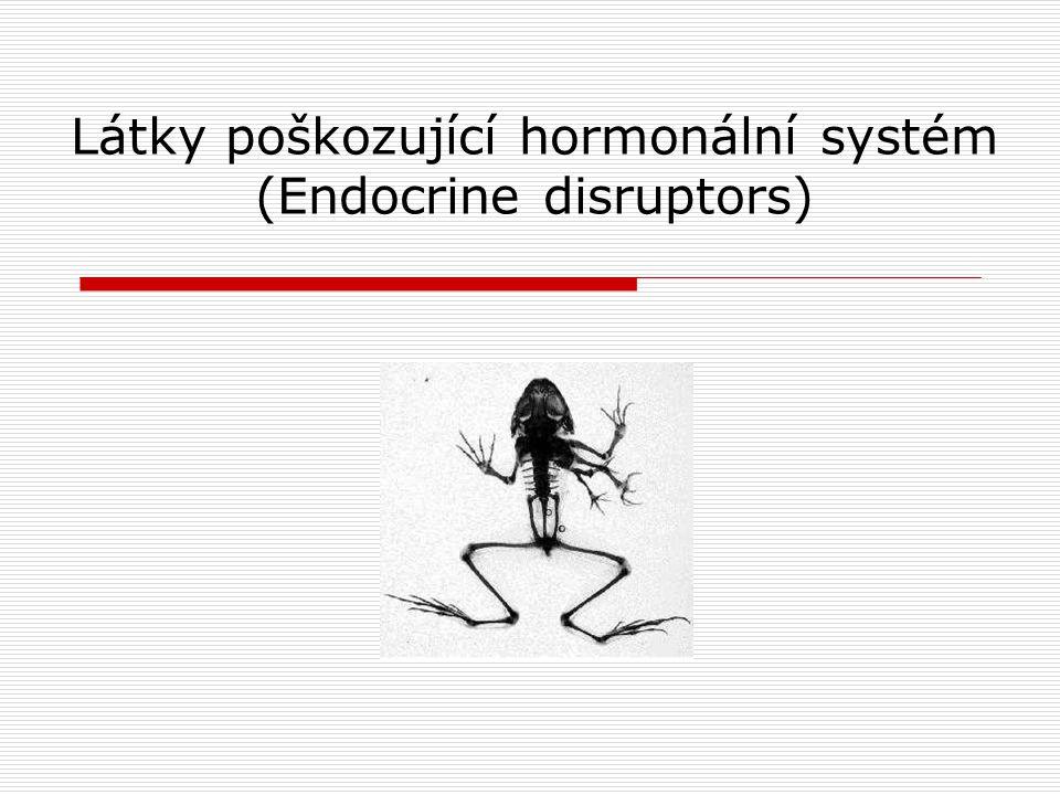 Látky poškozující hormonální systém (Endocrine disruptors)