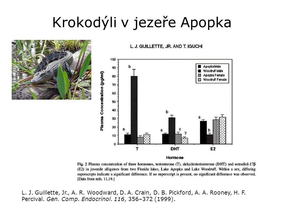 Krokodýli v jezeře Apopka