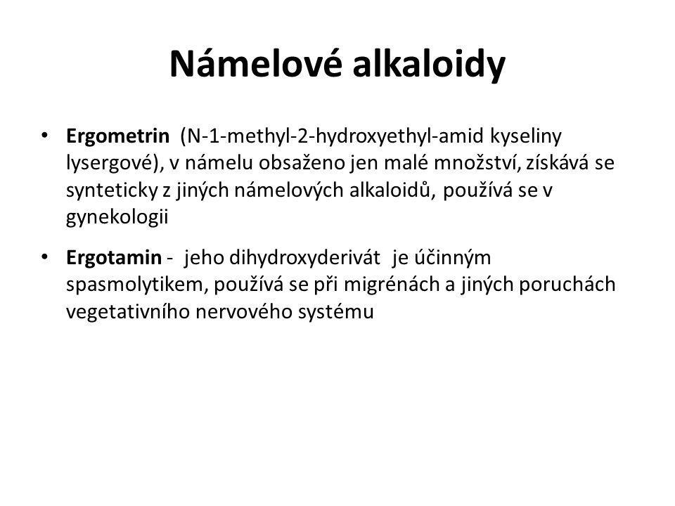 Námelové alkaloidy