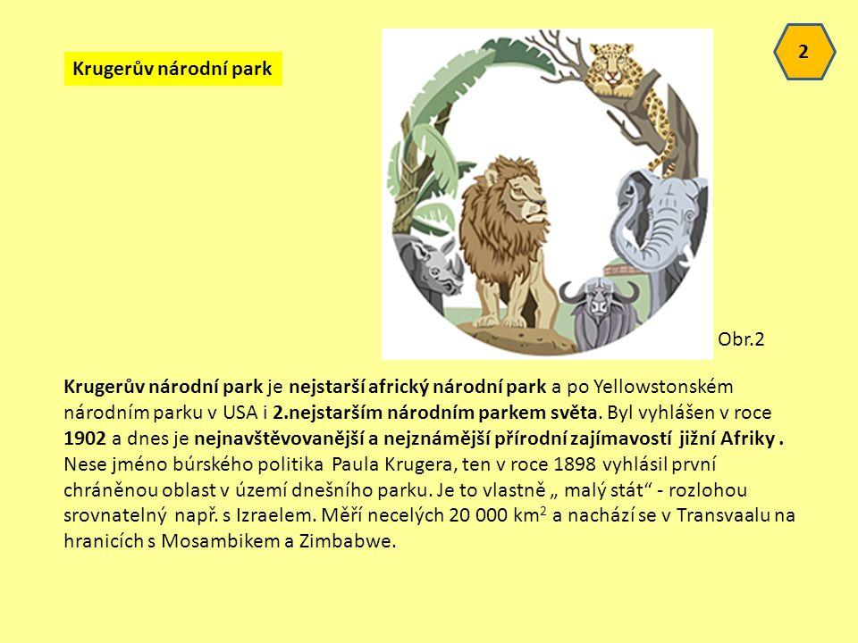 2 Krugerův národní park. Obr.2.