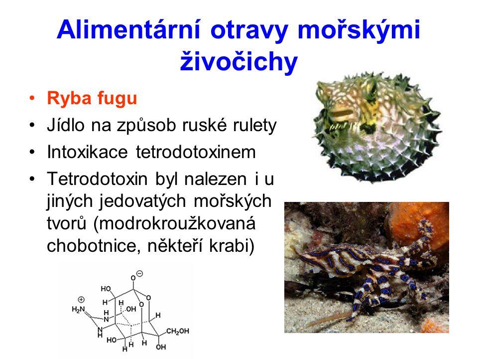Alimentární otravy mořskými živočichy