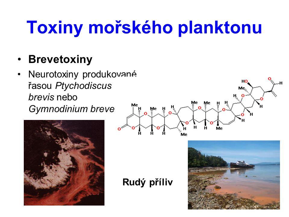 Toxiny mořského planktonu