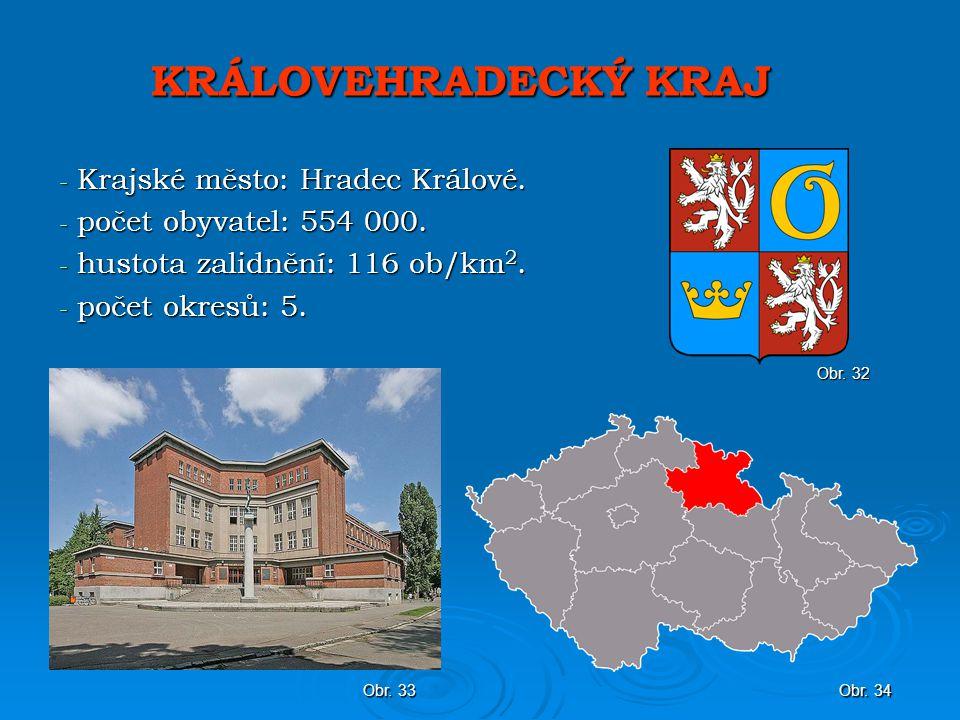 KRÁLOVEHRADECKÝ KRAJ Krajské město: Hradec Králové.