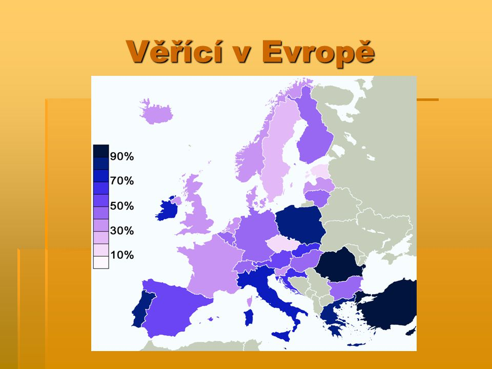 Věřící v Evropě