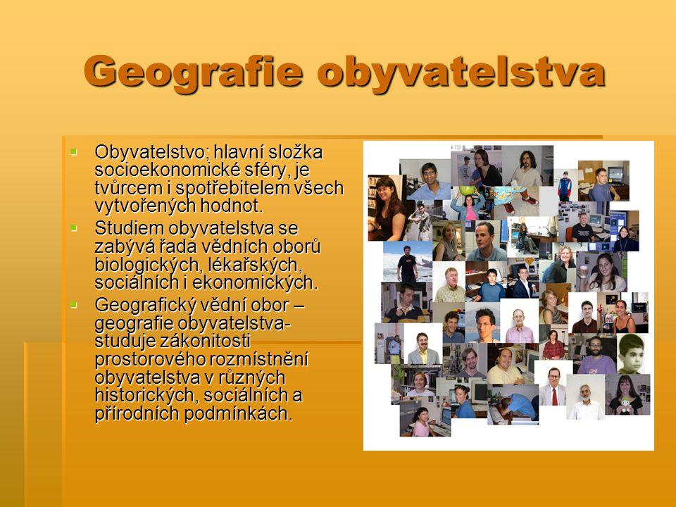 Geografie obyvatelstva
