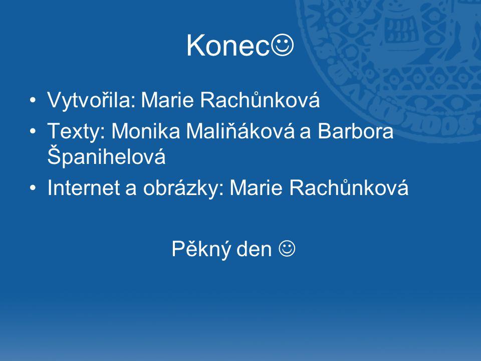 Konec Vytvořila: Marie Rachůnková