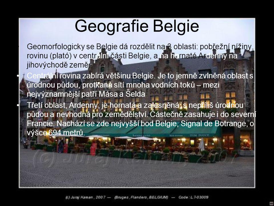 Geografie Belgie