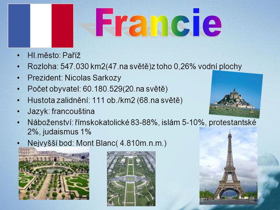 Francie Hl.město: Paříž