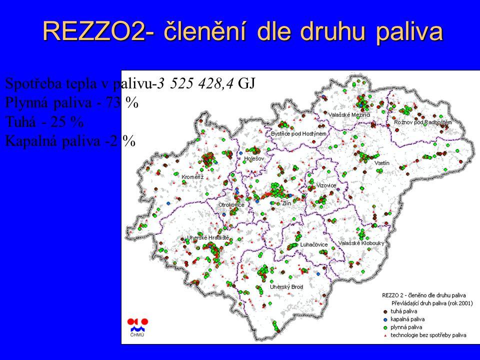 REZZO2- členění dle druhu paliva