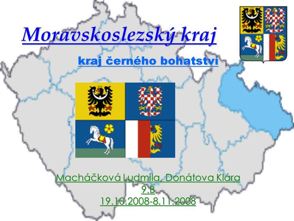 Moravskoslezský kraj kraj černého bohatství