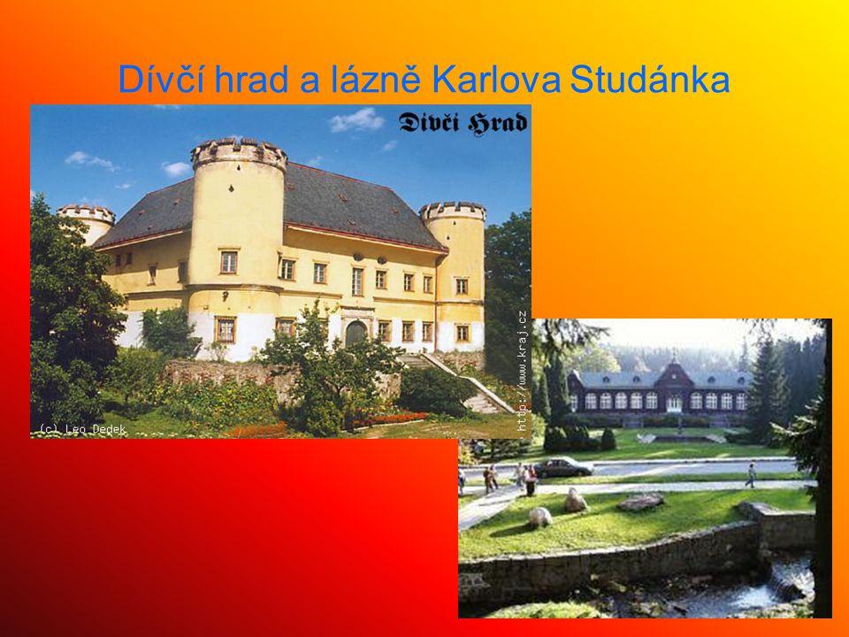 Dívčí hrad a lázně Karlova Studánka