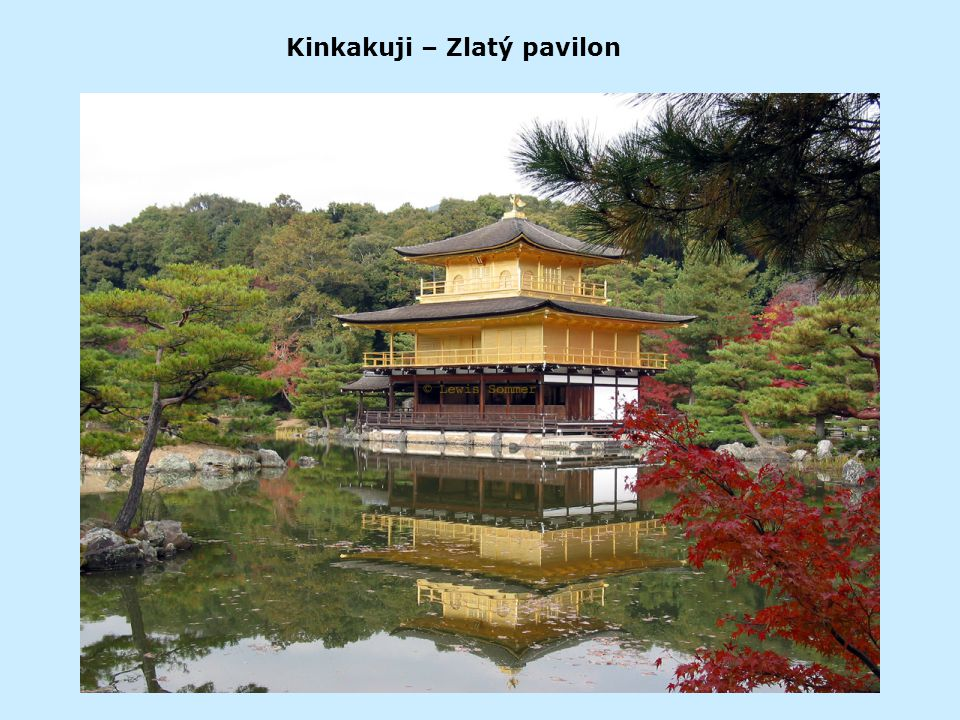 Kinkakuji – Zlatý pavilon