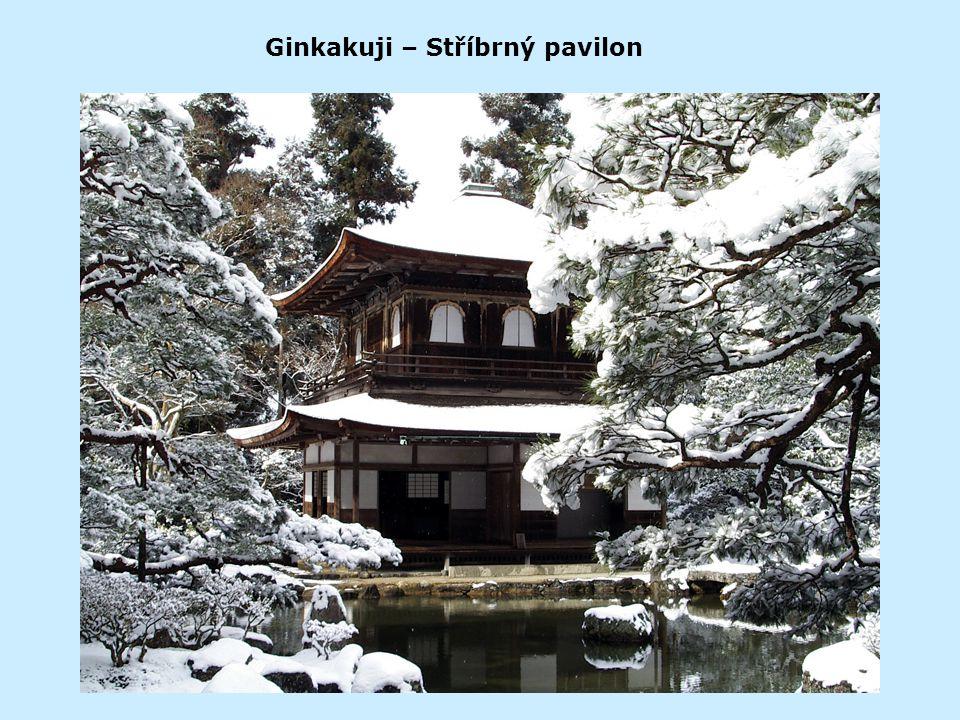 Ginkakuji – Stříbrný pavilon
