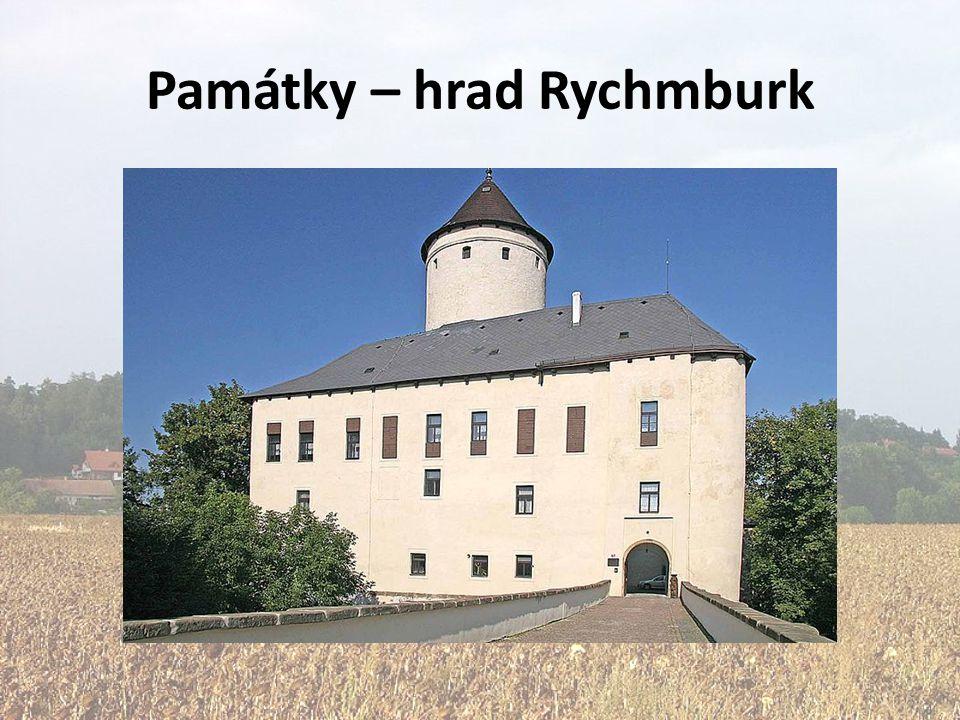 Památky – hrad Rychmburk