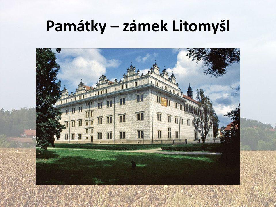 Památky – zámek Litomyšl