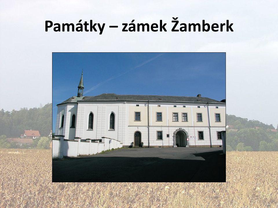 Památky – zámek Žamberk