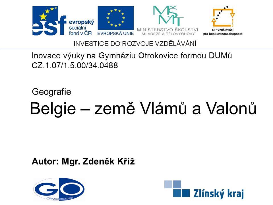 Belgie – země Vlámů a Valonů
