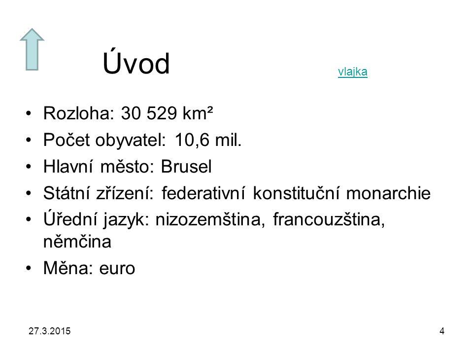 Úvod Rozloha: 30 529 km² Počet obyvatel: 10,6 mil.