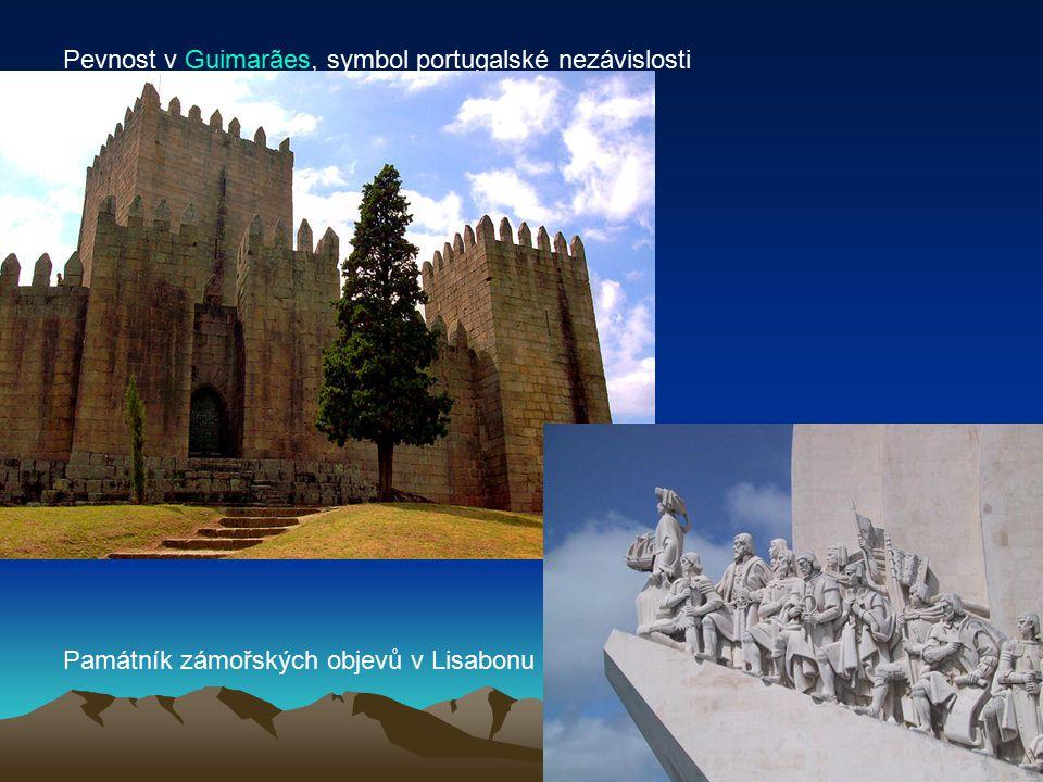 Pevnost v Guimarães, symbol portugalské nezávislosti