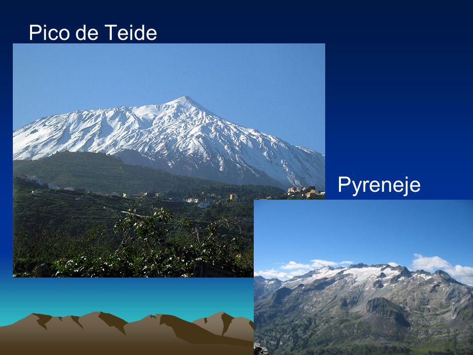 Pico de Teide Pyreneje