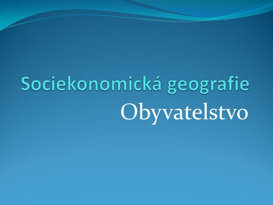 Sociekonomická geografie