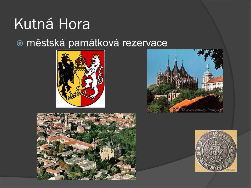 Kutná Hora městská památková rezervace
