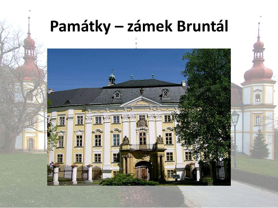 Památky – zámek Bruntál
