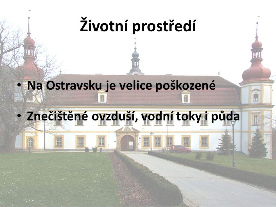 Životní prostředí Na Ostravsku je velice poškozené