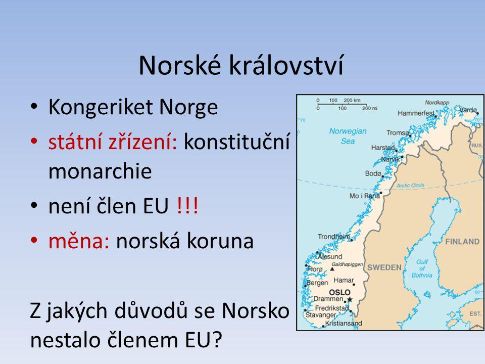Norské království Kongeriket Norge
