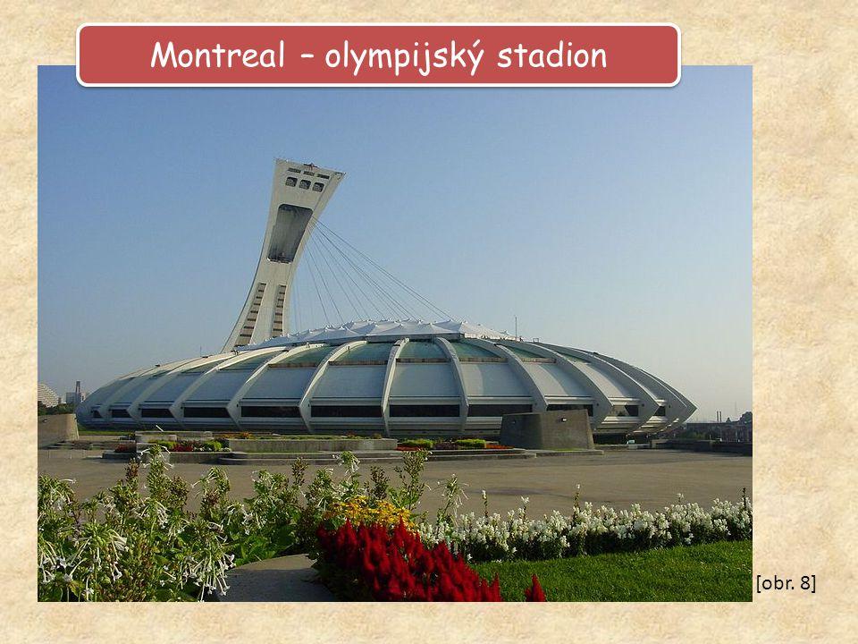 Montreal – olympijský stadion