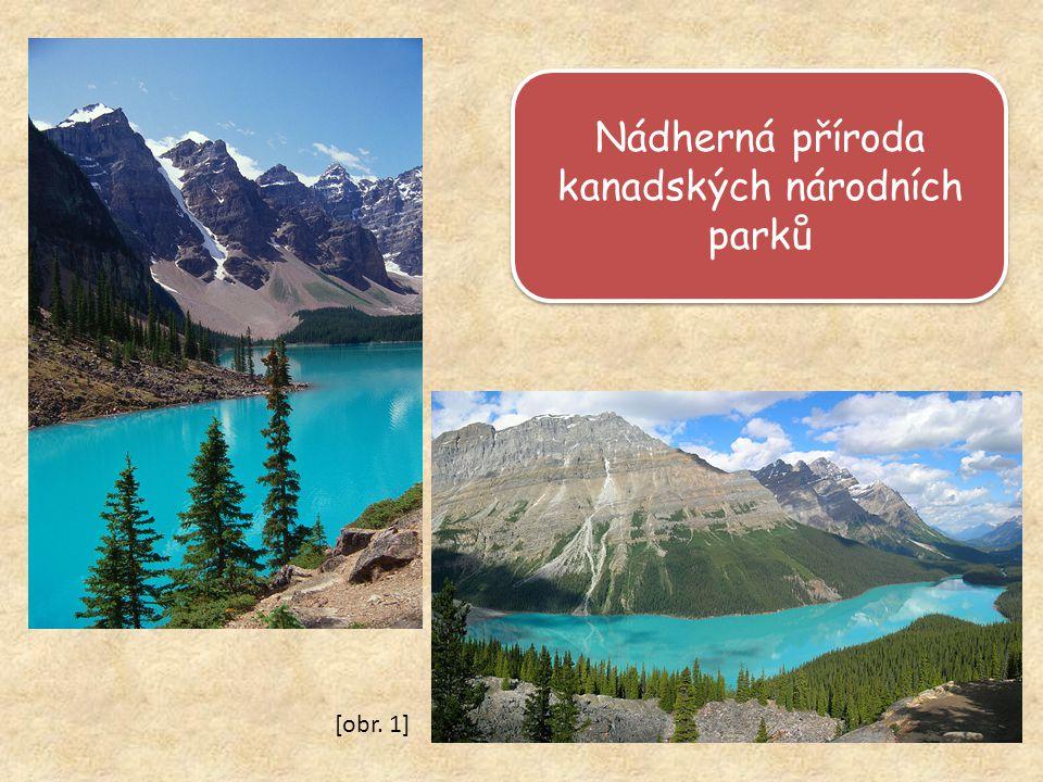 Nádherná příroda kanadských národních parků