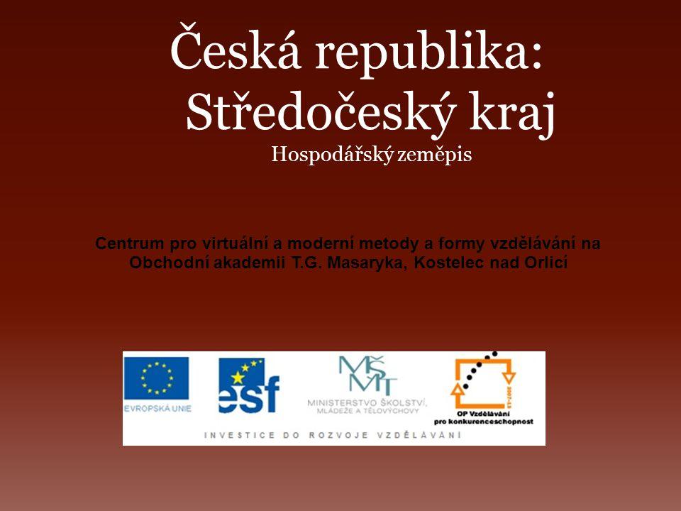 Česká republika: Středočeský kraj Hospodářský zeměpis