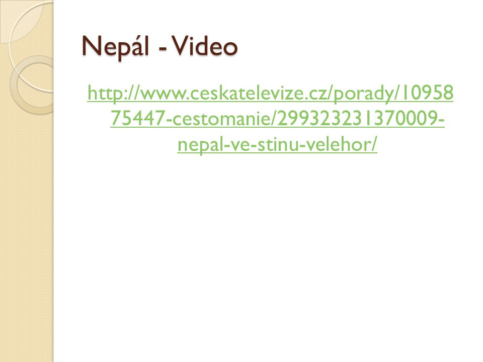 Nepál - Video cestomanie/ nepal-ve-stinu-velehor/