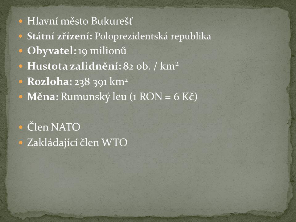 Hustota zalidnění: 82 ob. / km² Rozloha: 238 391 km2