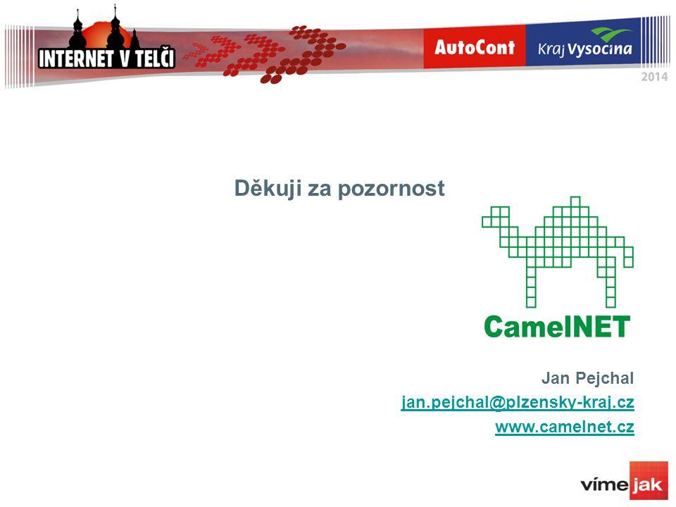 Děkuji za pozornost Jan Pejchal jan.pejchal@plzensky-kraj.cz