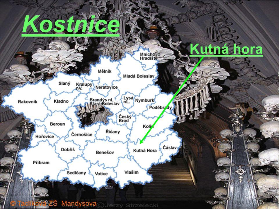 Kostnice Kutná hora © Taclíková ZŠ Mandysova